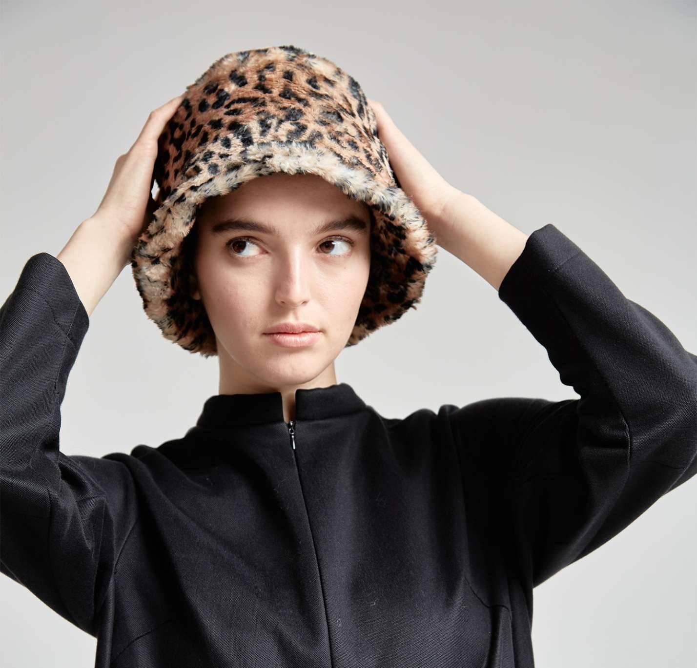 """Шляпа """"Сафари мун"""" (леопард)"""