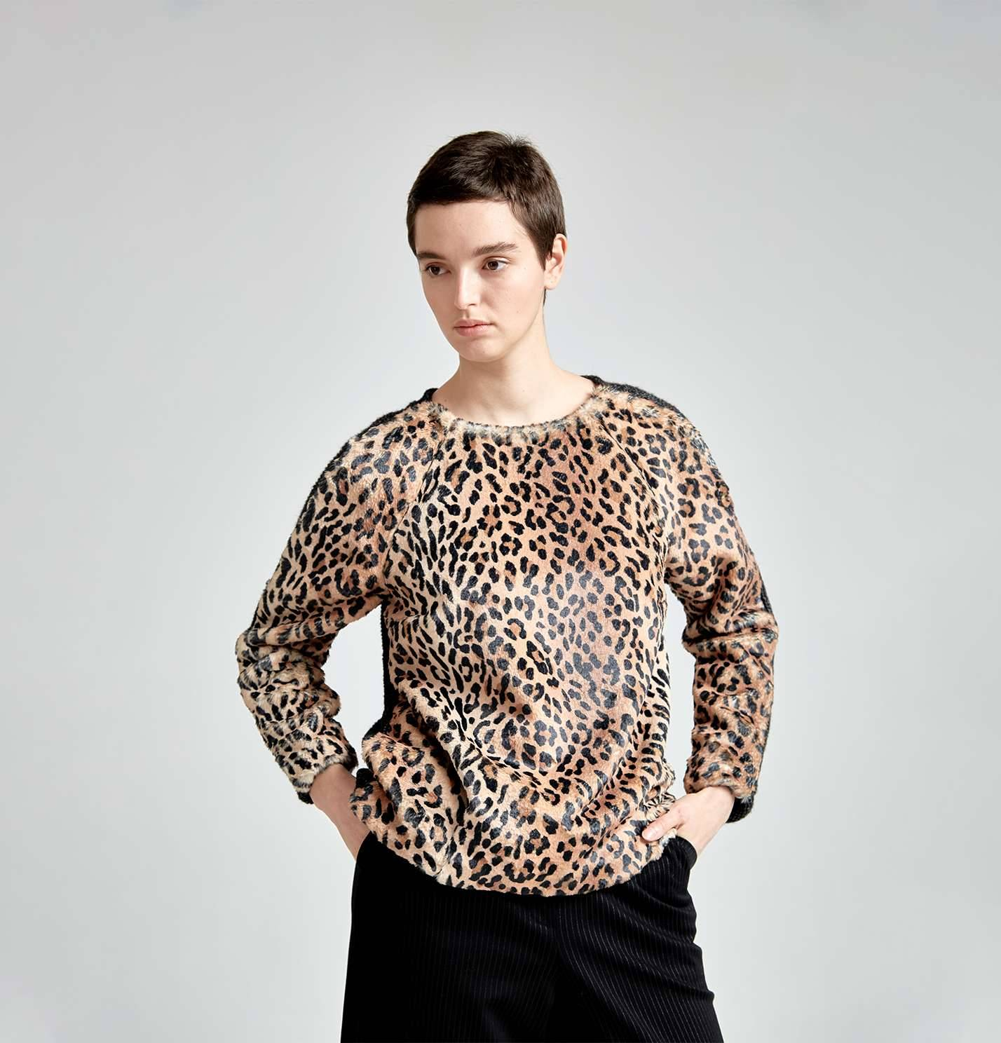 """Джемпер """"Сафари мун"""" (леопард)"""