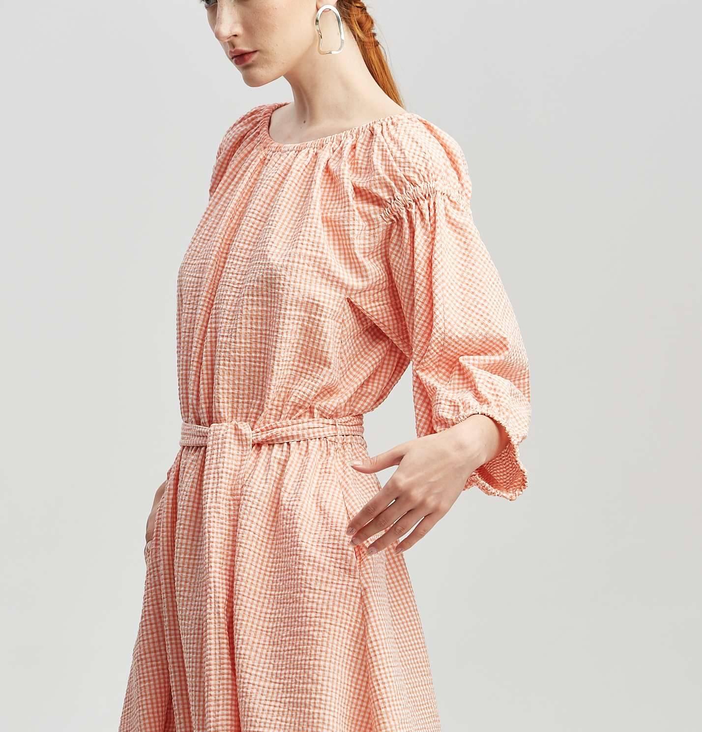"""Платье """"Серебрякова"""" (светло-оранжевый)"""