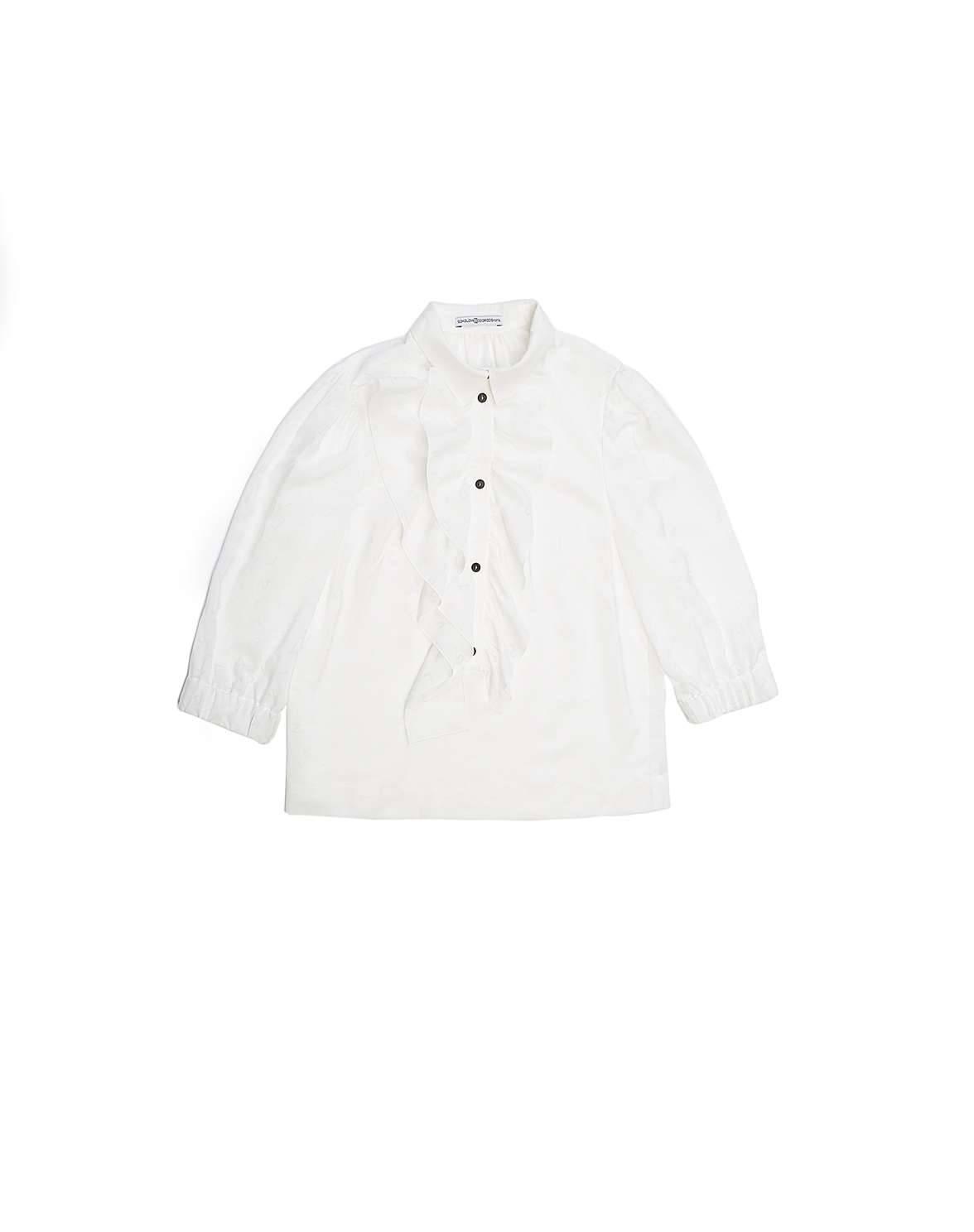"""Блуза """"Мел"""" (белый - буквы)"""